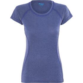 Bergans Cecilie Kortærmet T-shirt Damer blå